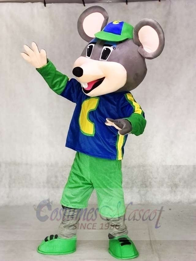 Chuck E  Cheese Mascot Costume Mouse Mascot Costumes Animal