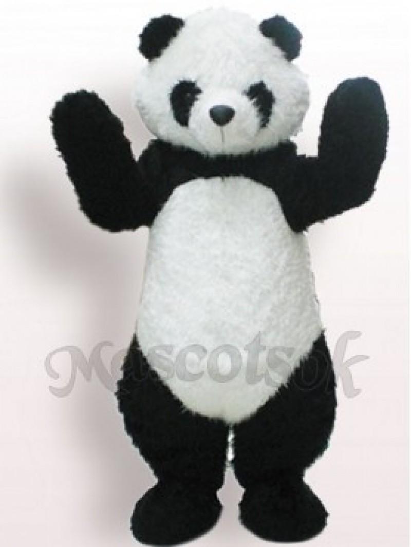 Black And White Panda Plush Adult Mascot Funny Costume