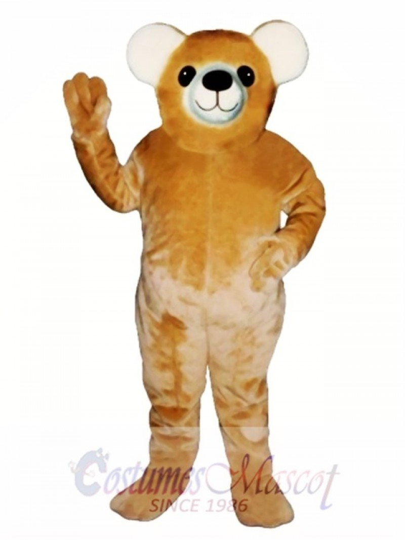 New Teddy Bear Mascot Costume
