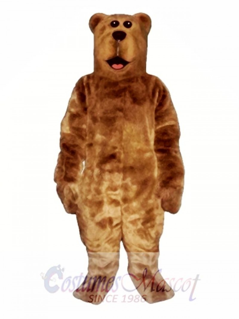 Willy Bear Mascot Costume