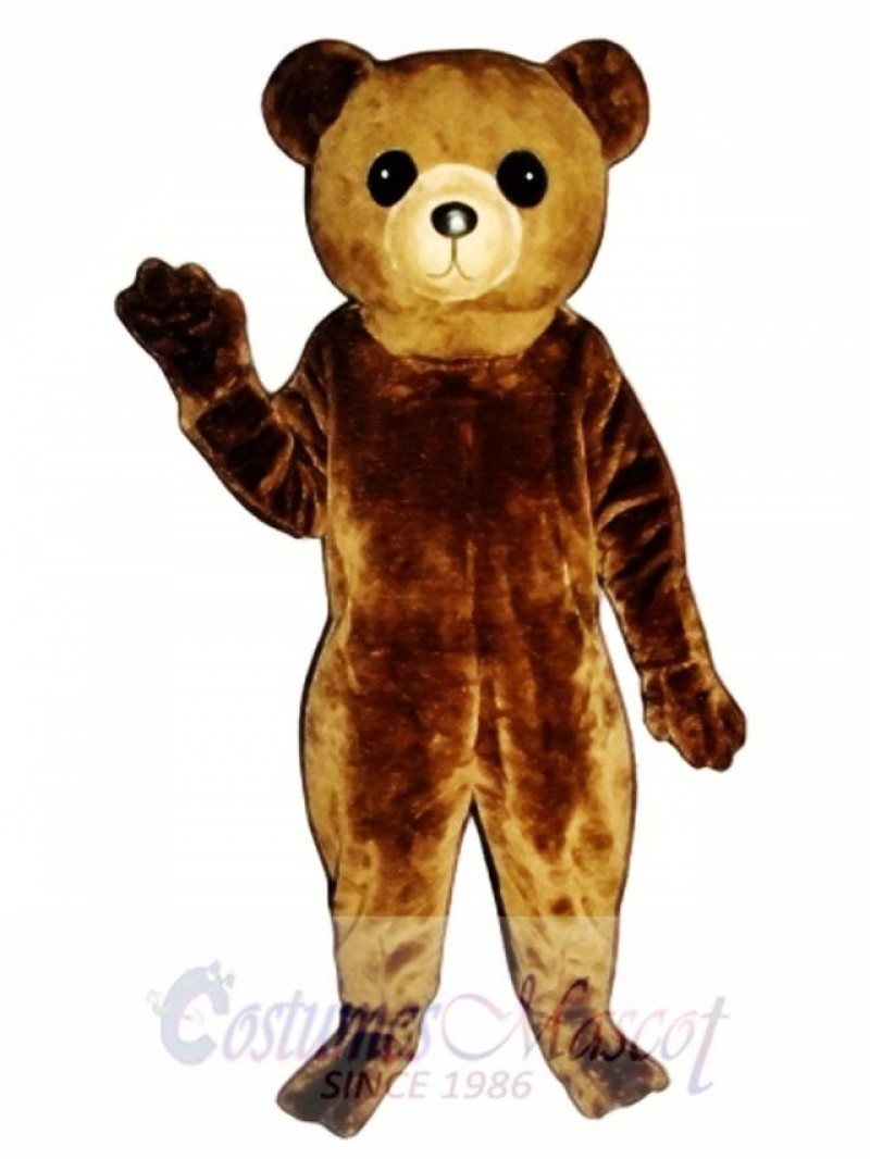 New Big Teddy Bear Mascot Costume