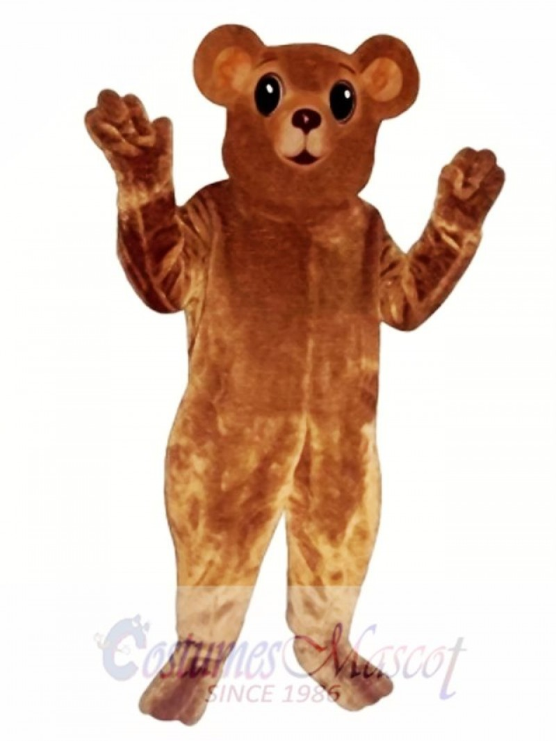 New Bear Cub Mascot Costume