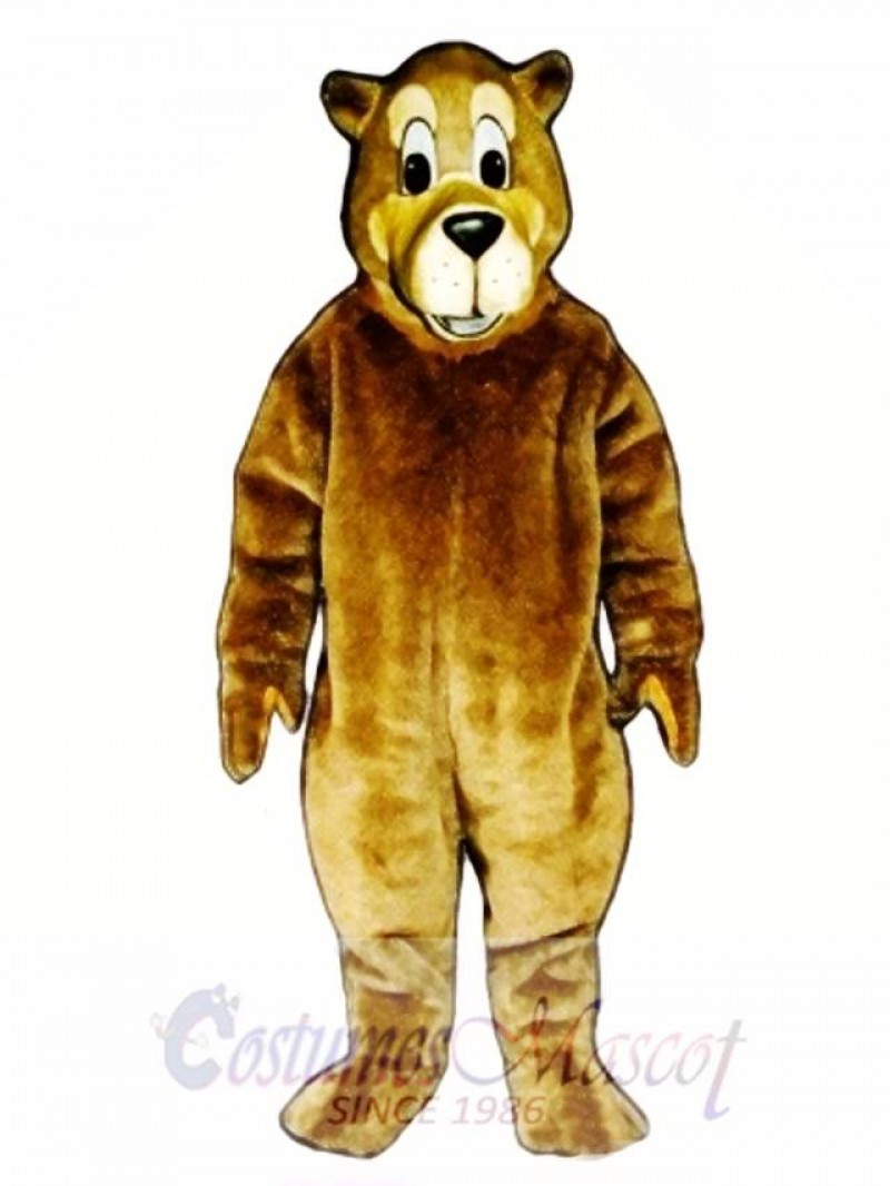 Cute Buster Bear Mascot Costume