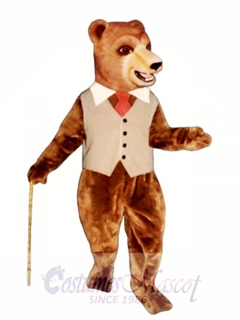Barclay Bear Mascot Costume
