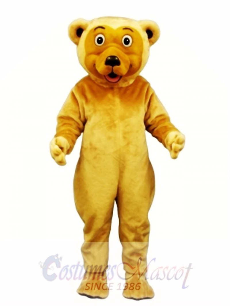 Cute Butch Bear Mascot Costume