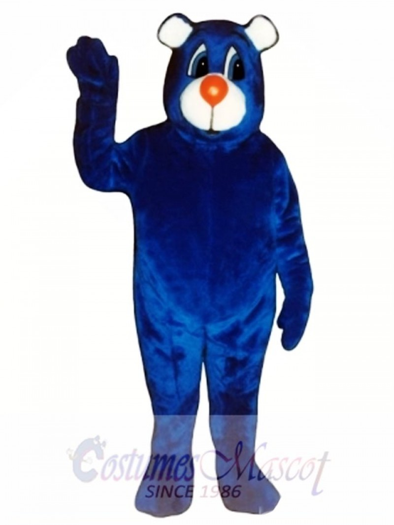 New Blue Bear Mascot Costume