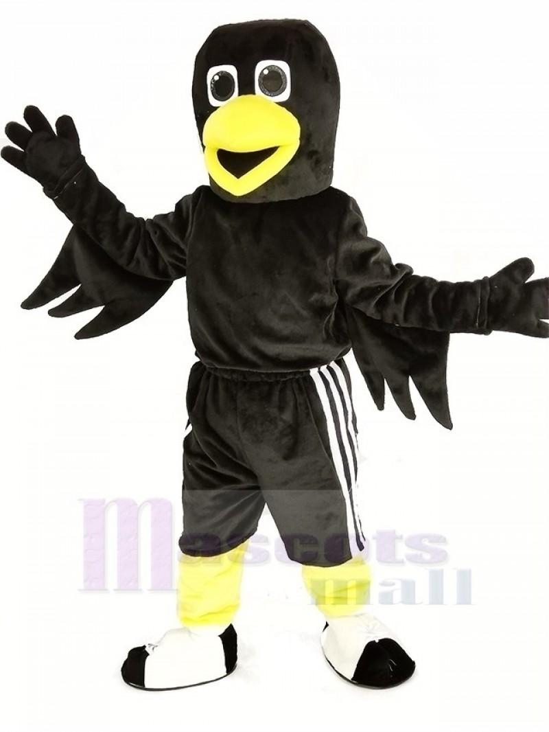 Black Bird Raven Mascot Costume Animal