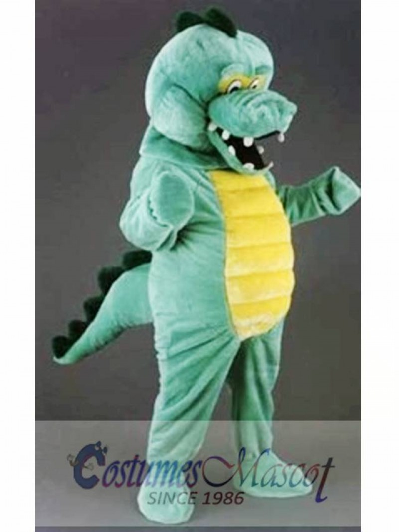 Crocodile Cuddly Mascot Costume Halloween Cosplay Dress