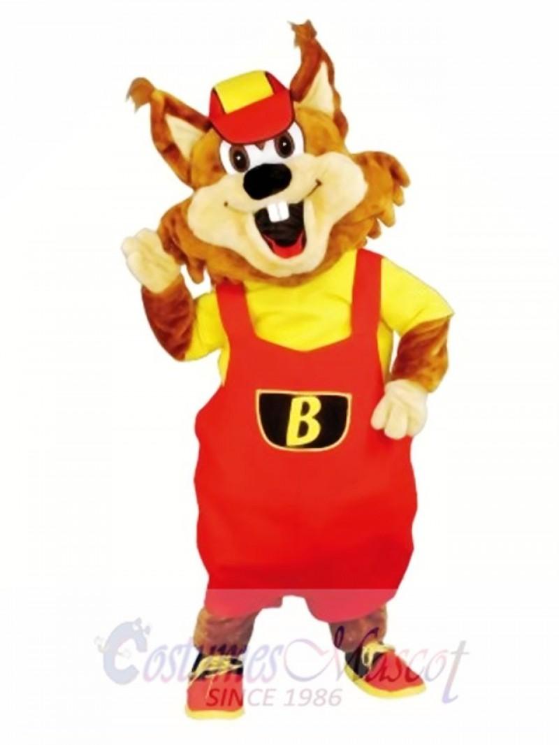 New Beaver Mascot Costume