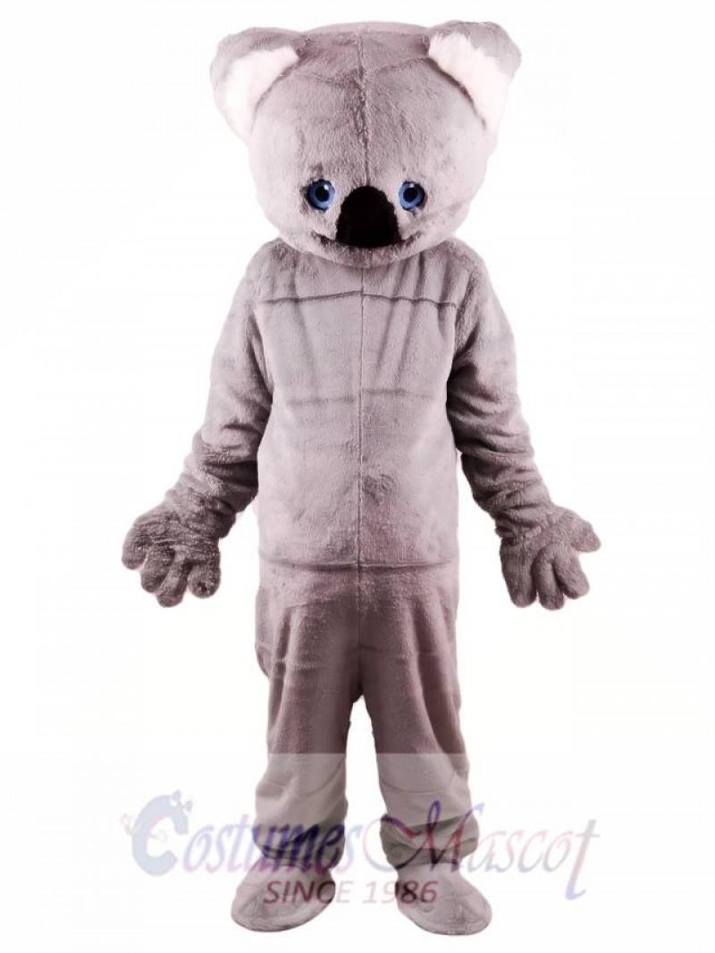Gray Koala Mascot Costume
