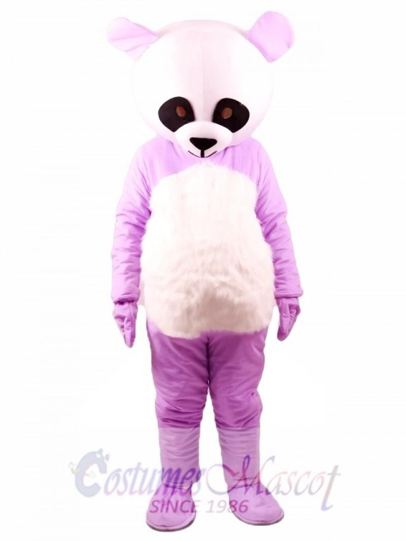 Chinese Purpe Giant Panda Mascot Costume