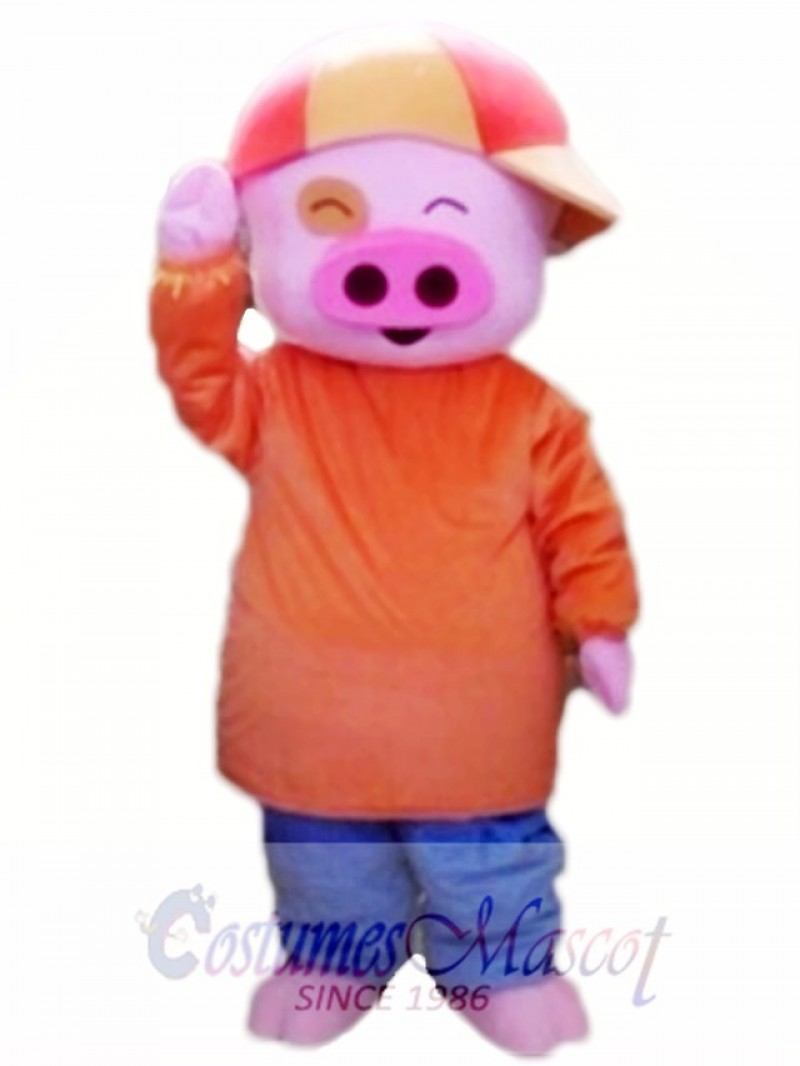 Mcdull Pig Mascot Cartoon Costume