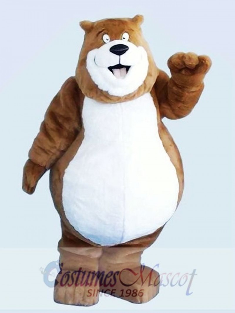 Brown Charmin Bear Mascot Adult Costume