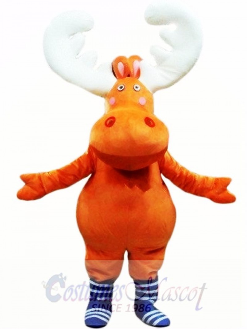 New Big Moose Deer Mascot Costume