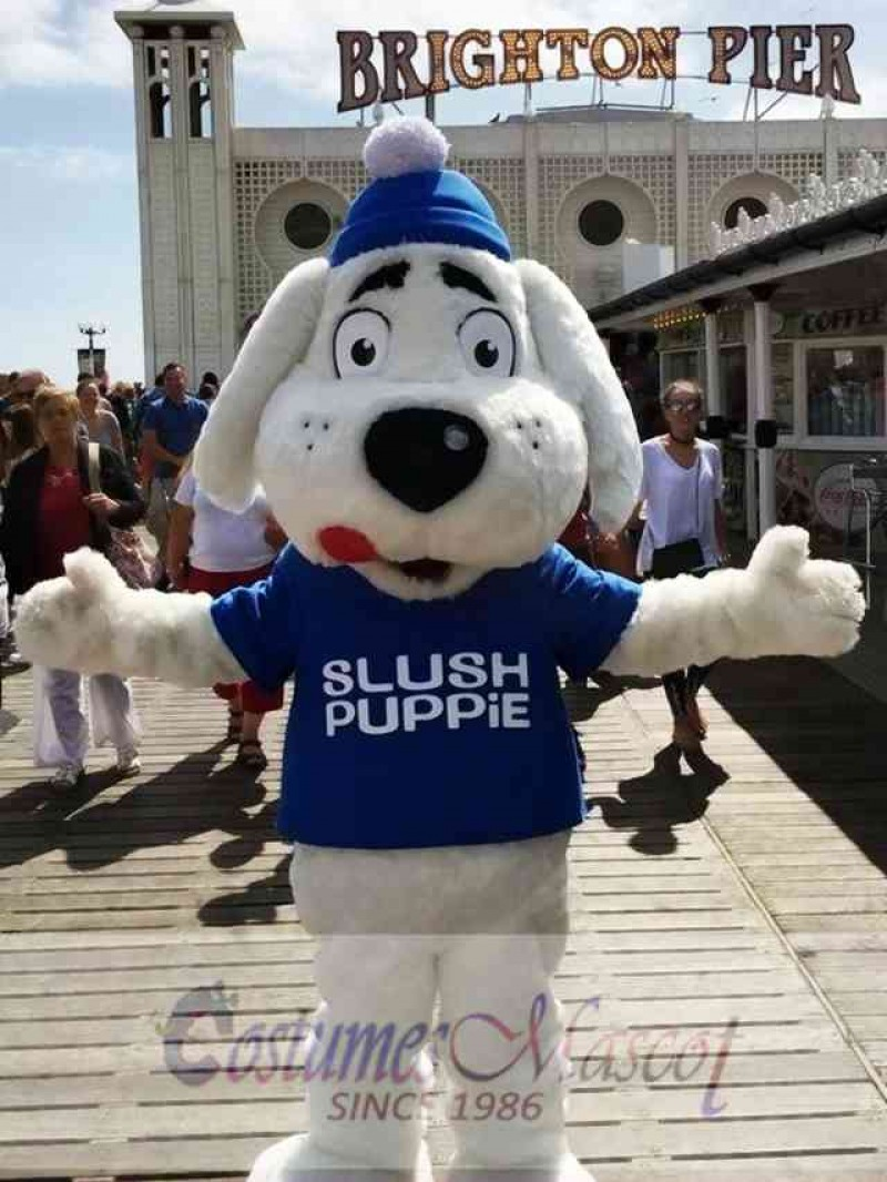 Slush Puppie Dog Mascot Costume