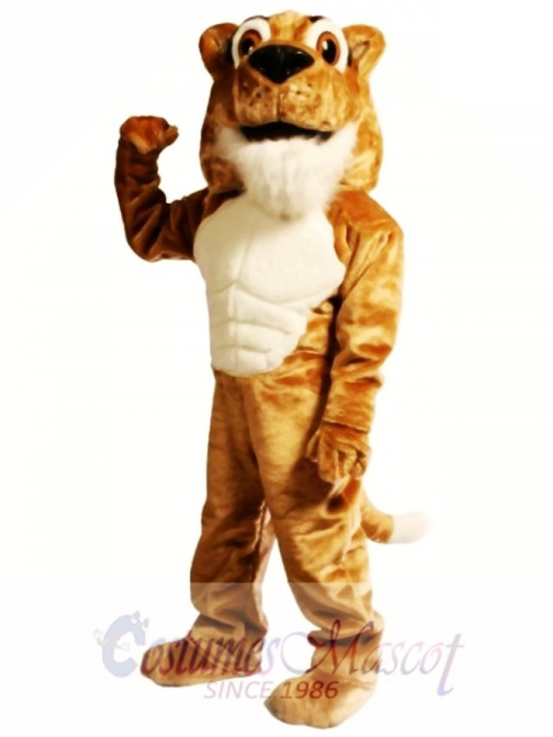 Corby Power Cat Cougar Mascot Costume