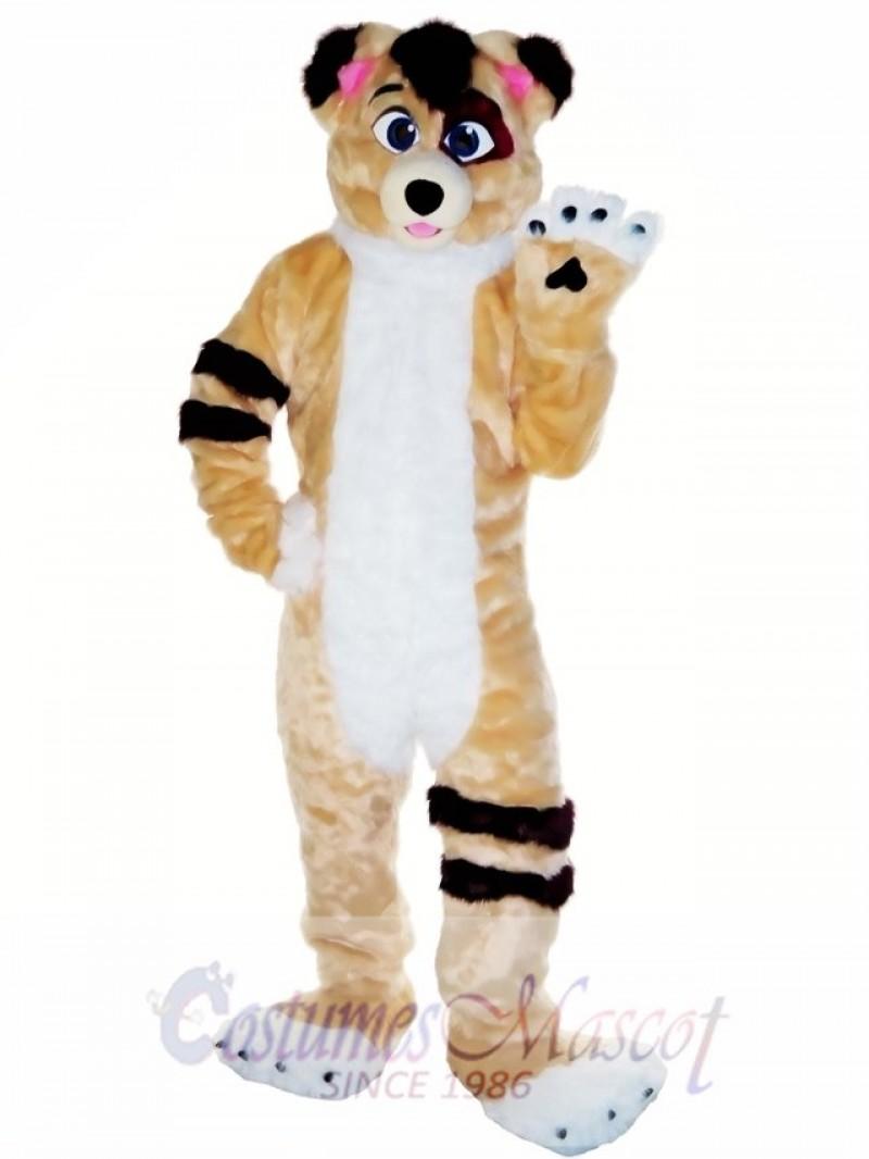 Friendly Fursuit Dog Mascot Costume