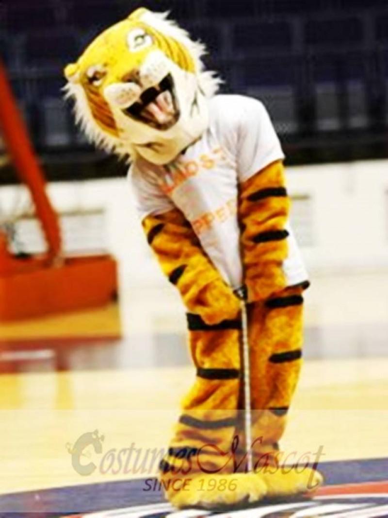 Happy Tiger Mascot Costume