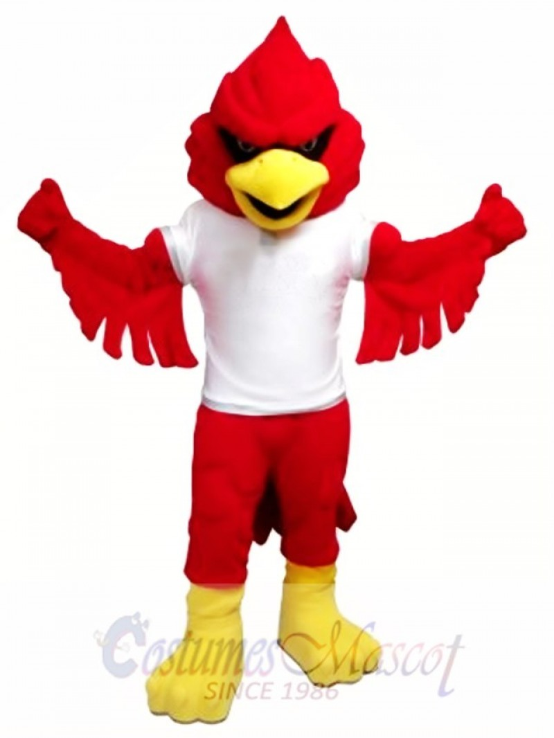 Power Cardinal Mascot Costume