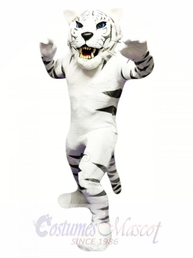 White Tiger Mascot Costume