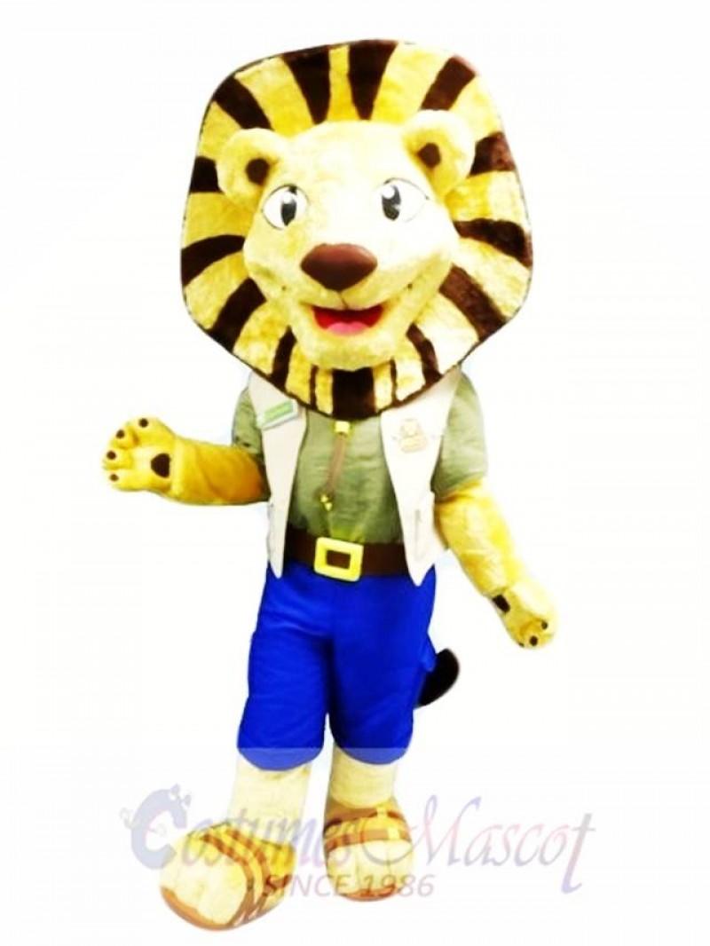 Folly Lion Mascot Costume