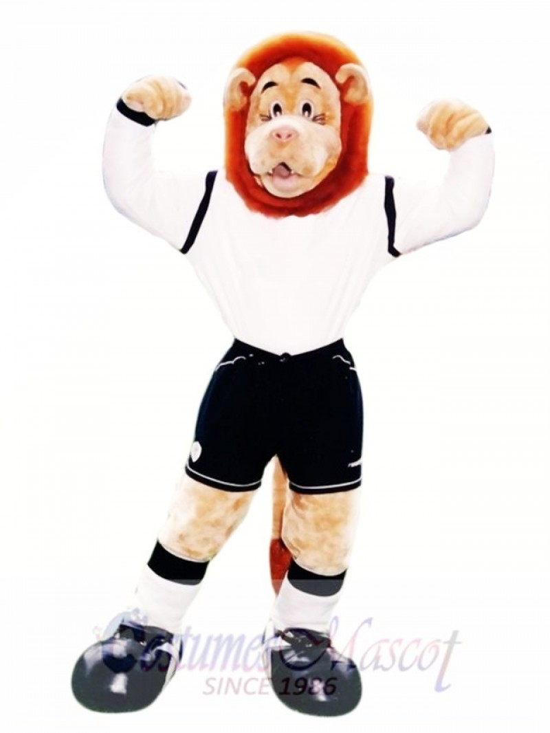 Lofty Lion Mascot Costume