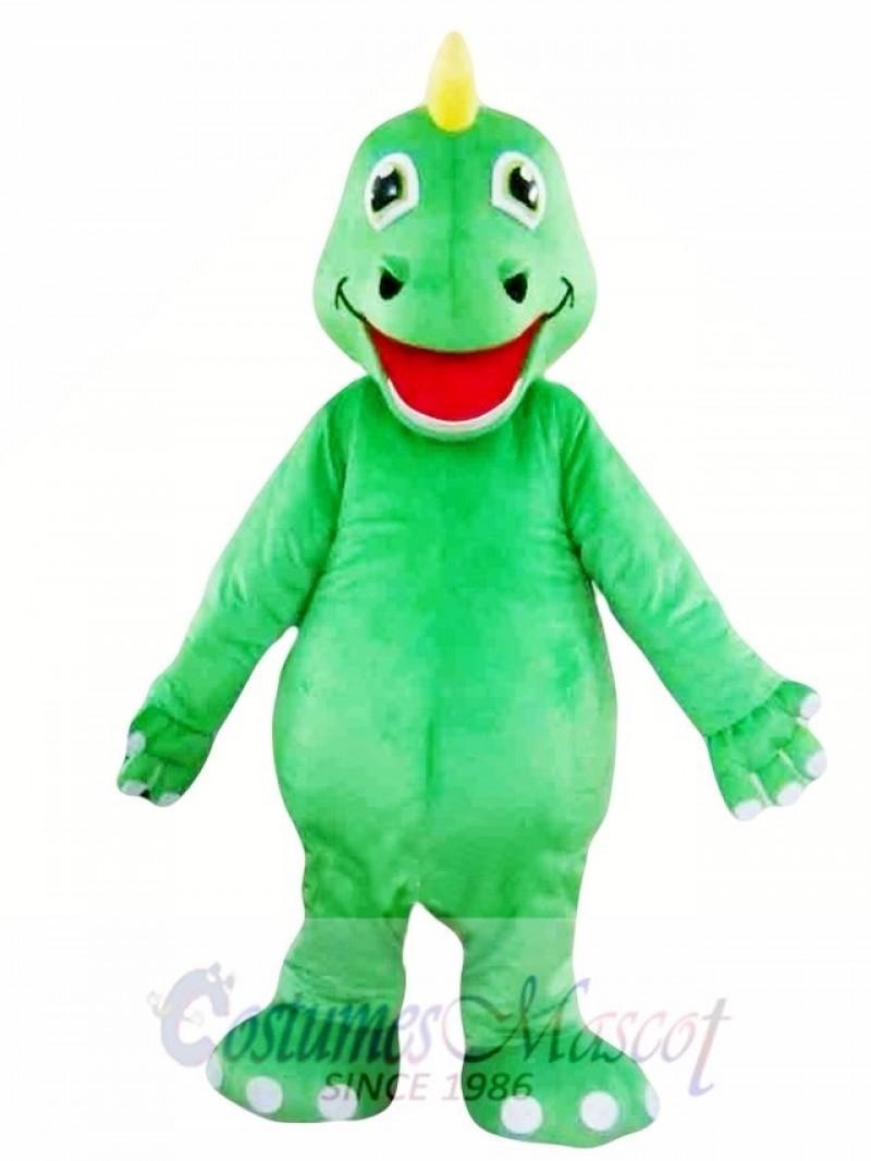 Green Adult Dinosaur Mascot Costumes