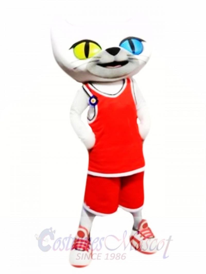 Turkey Cat Mascot Costume