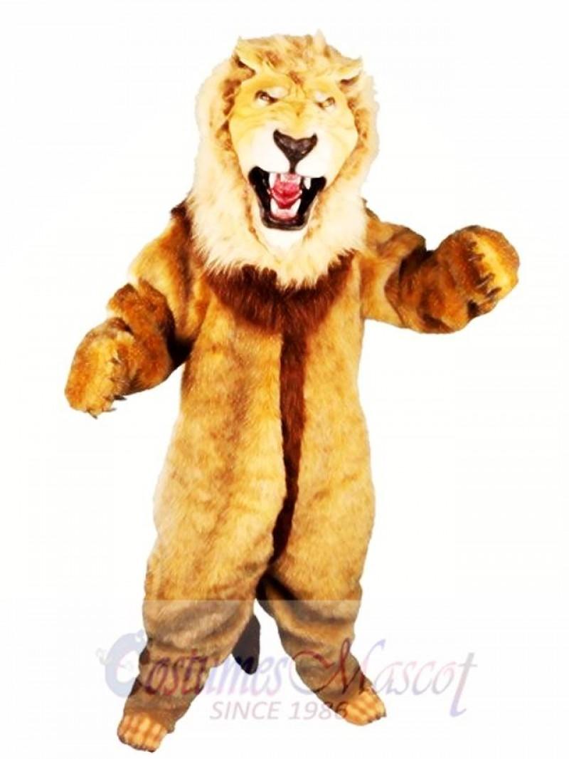 High Quality Animal Lion Mascot Costume
