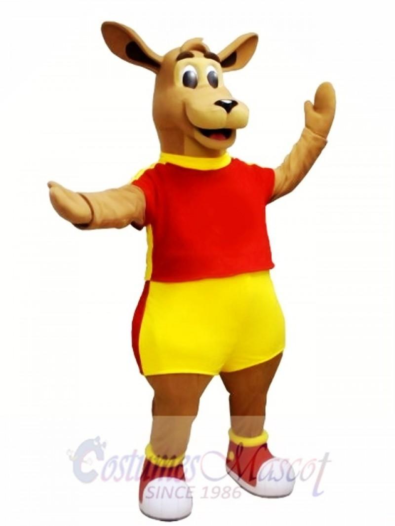 High Quality Kangaroo Mascot Costume