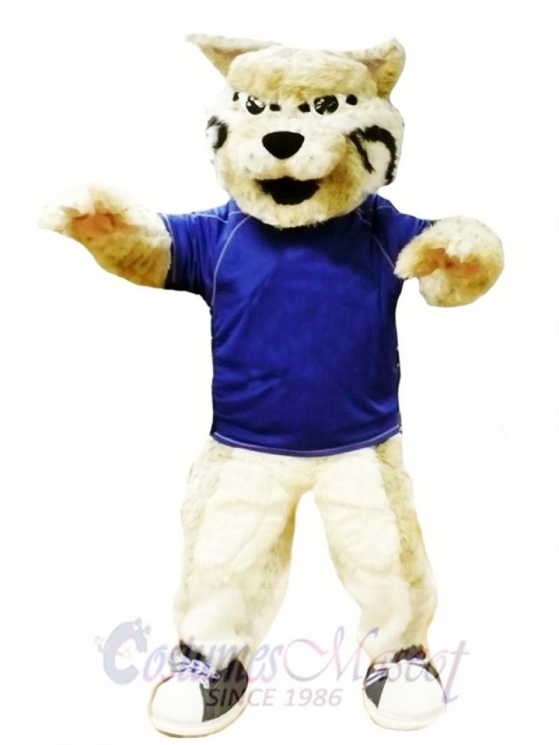 Power Bobcat Mascot Costume