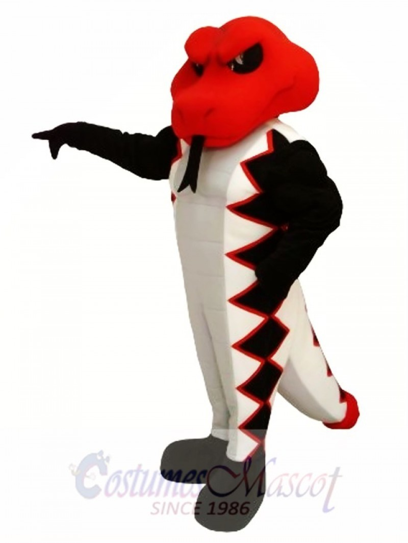 Red Cobra Mascot Costume