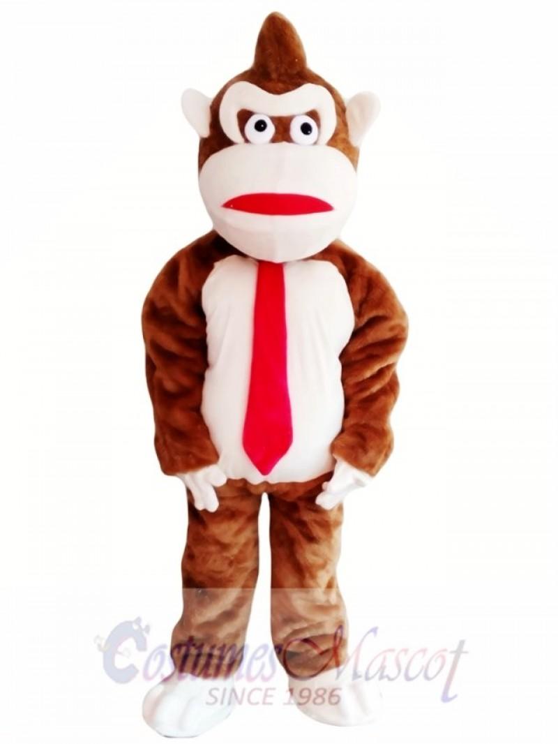 Quality Adult Orangutan Mascot Costume