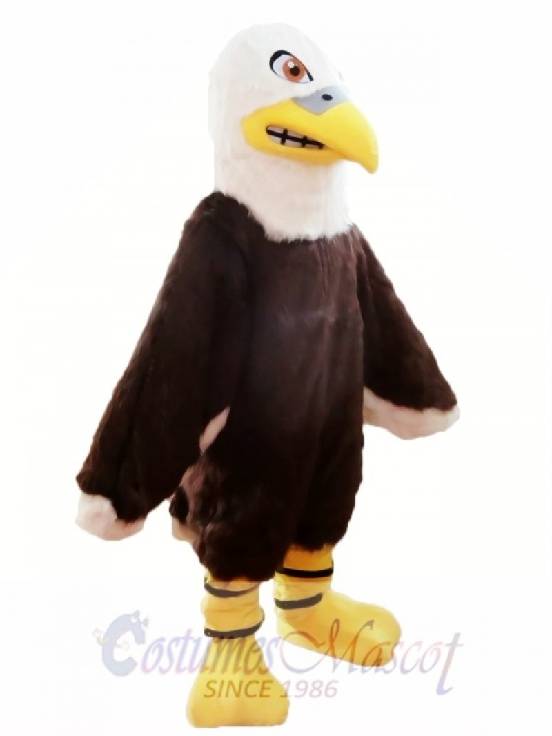 Furry Eagle Mascot Costume