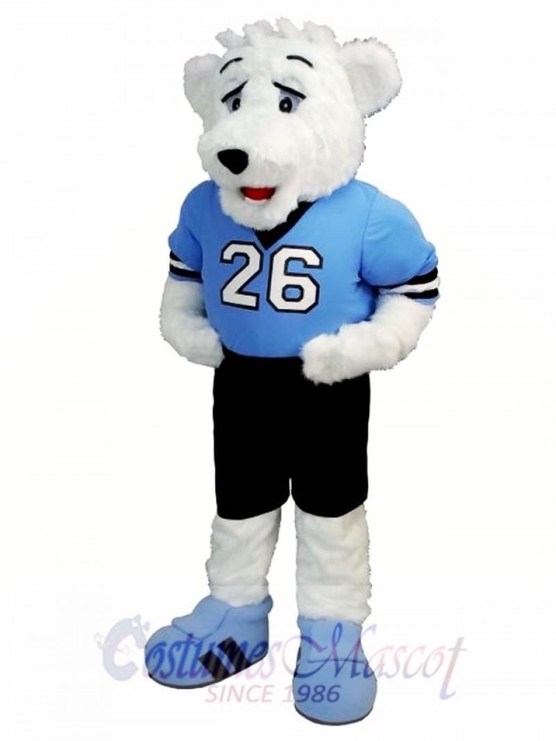 Ice Hockey Polar Bear Mascot Costume