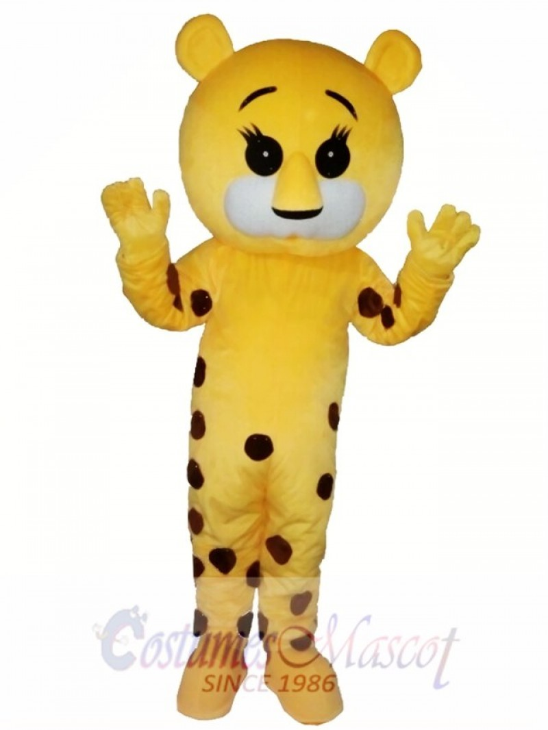 Spotted Tiger Mascot Costume For Adults