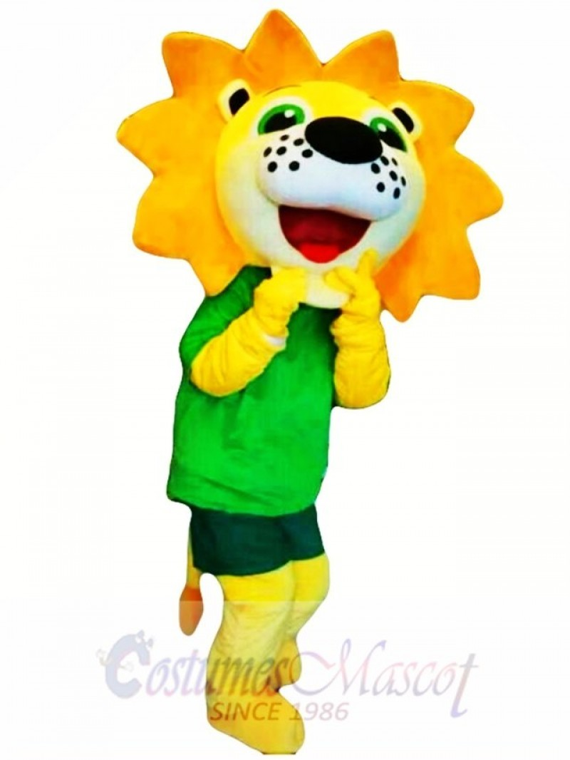 Sunshine Flower Lion Mascot Costume