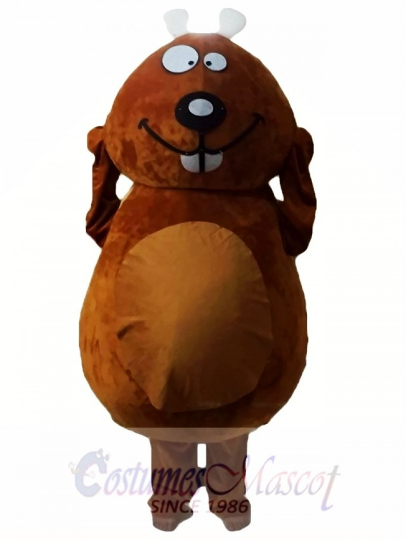 Brown Beaver Mascot Costumes