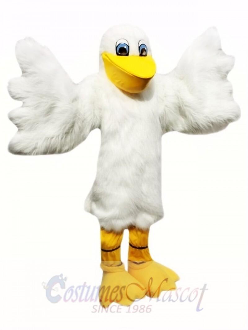 White Pelican Mascot Costumes