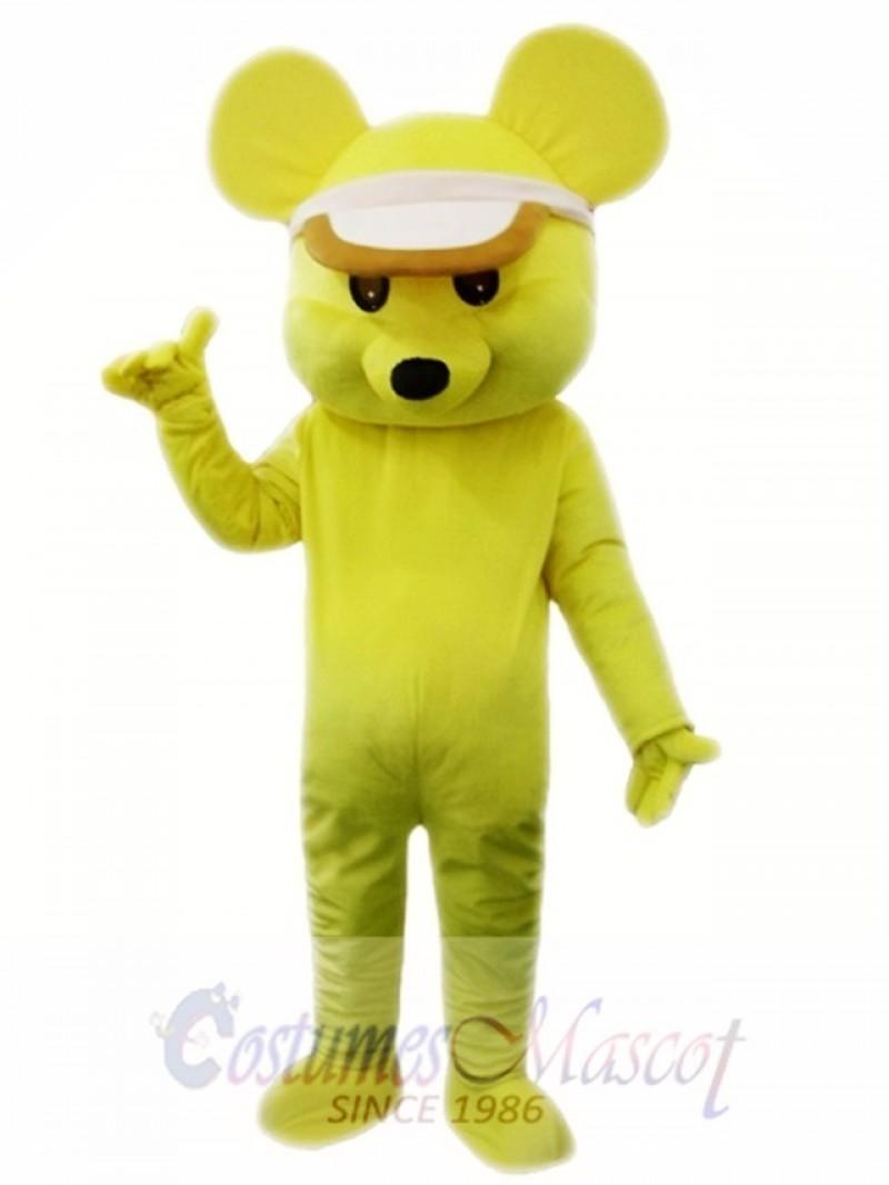Yellow Mouse Mascot Costume