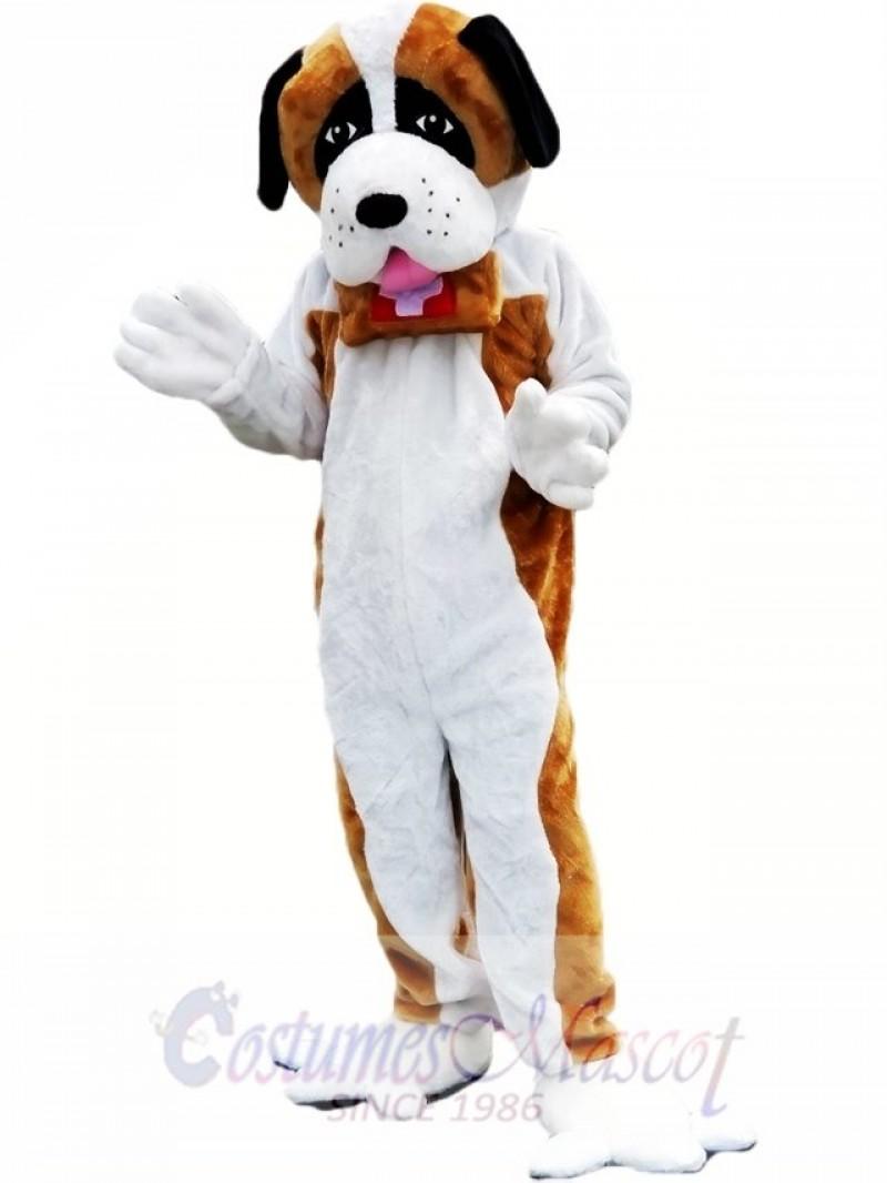 St. Bernard Dog Doctor Dog Mascot Costume