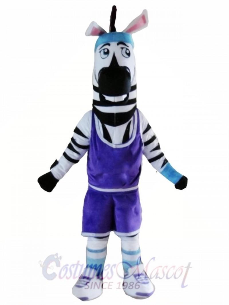 High Quality Adult Zebra Mascot Costume