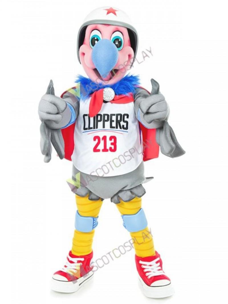 LA Clippers Mascot Costume Chuck California Condor Mascot Costume