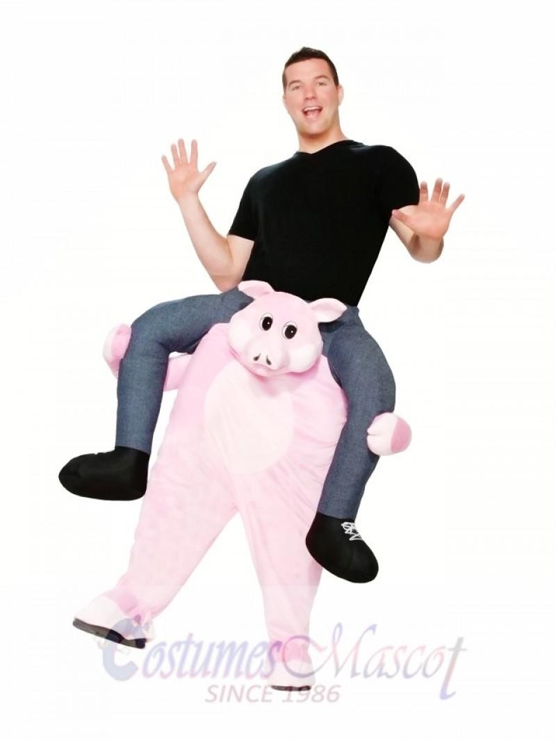 Pig Carry Me Ride a Pig Mascot Costume