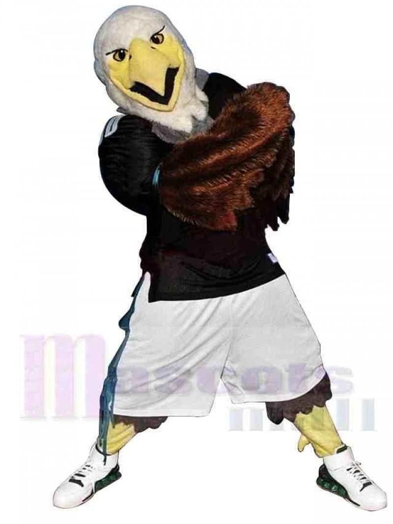 Sporty Fierce Eagle Mascot Costume