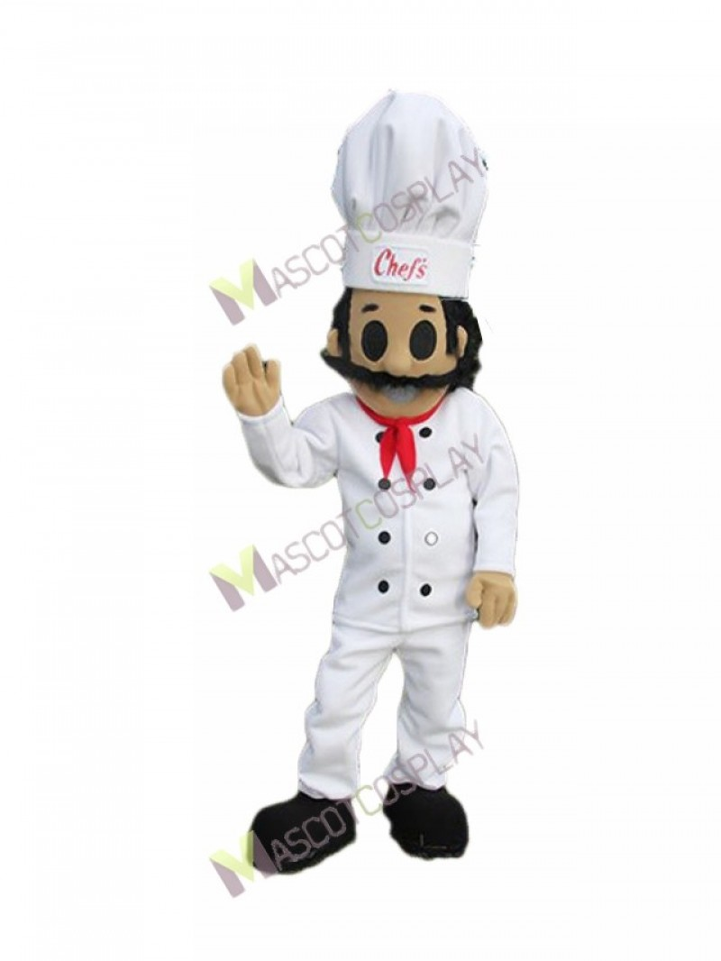High Quality Adult Cook Italian Chef Mascot Costume