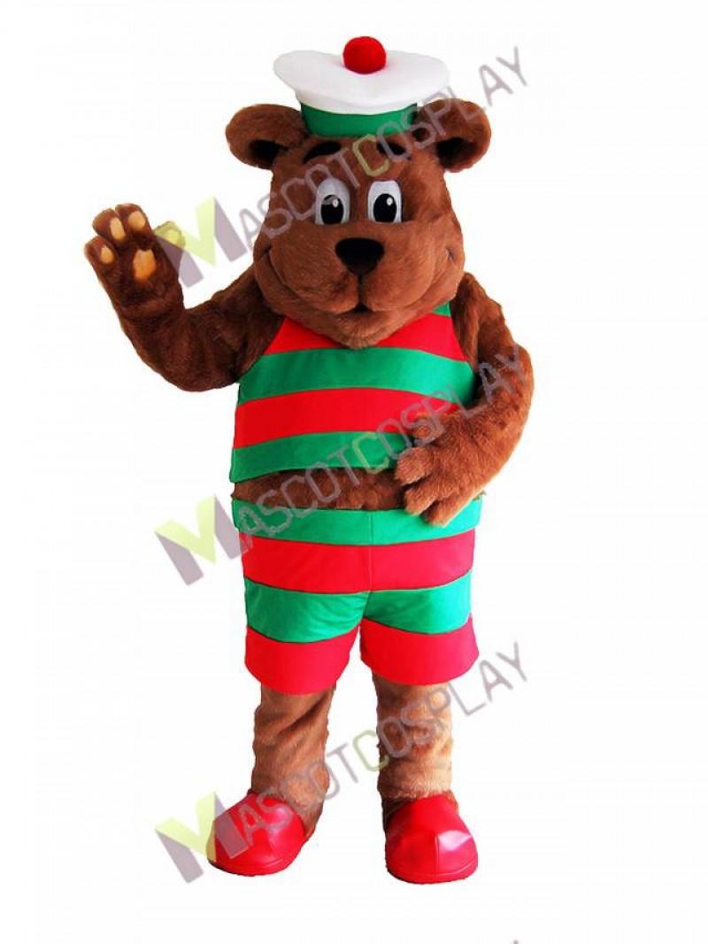 High Quality Adult Cod Liver Bear Mascot Costume