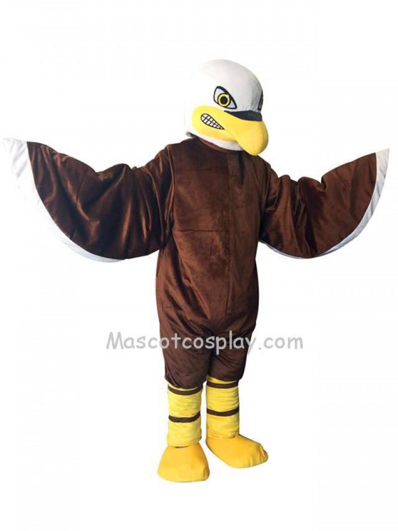 New Brown Fierce Eagle Costume Mascot