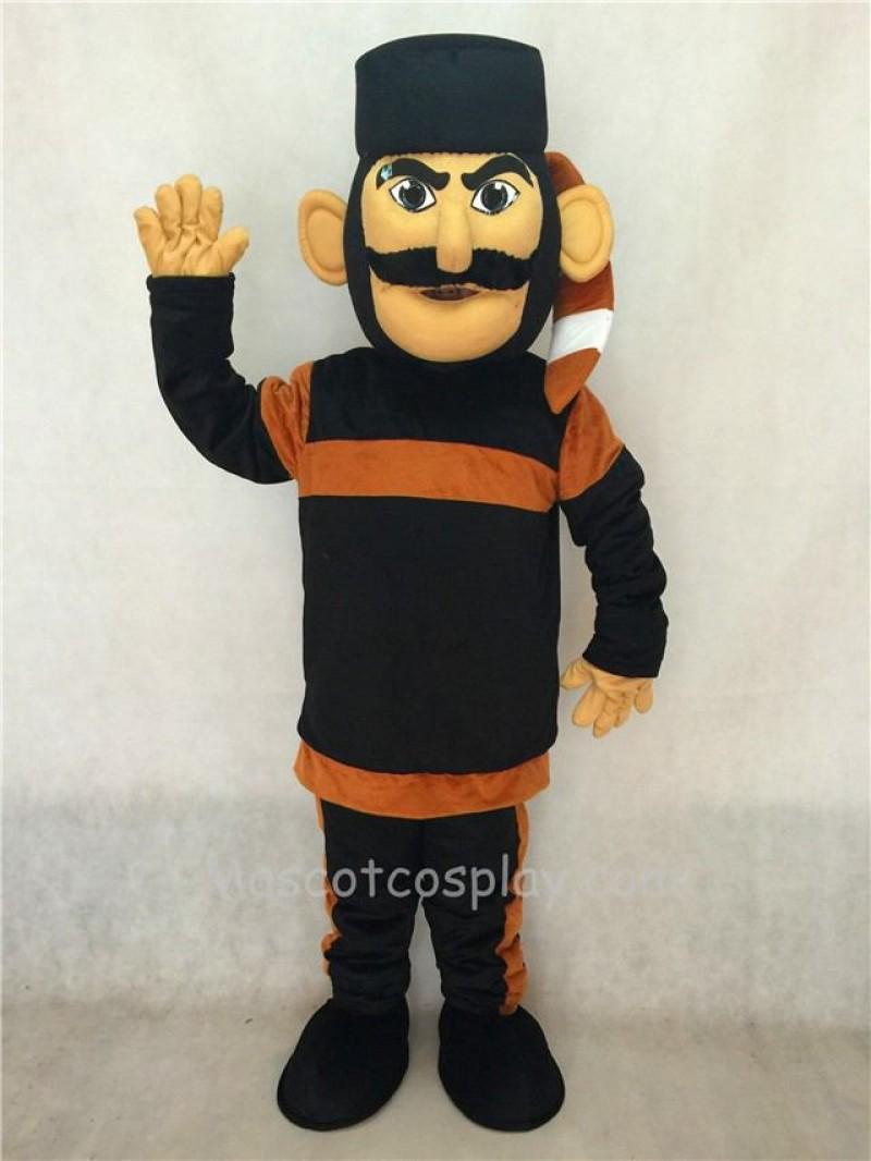 Realistic Hunter Daniel People Mascot Costume