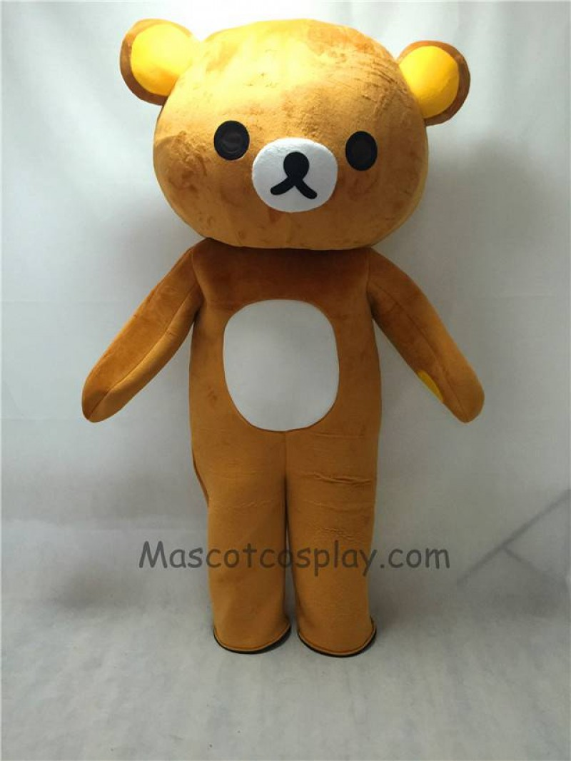 Cute Japanese Cartoon Rilakkuma Bear Mascot Costume